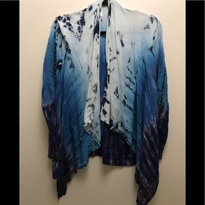 Tops - Tie dye top. Sexy and elegant. Bohemian. One size